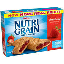 Nutri-Grain Cereal Bars, Strawberry 8 ct box