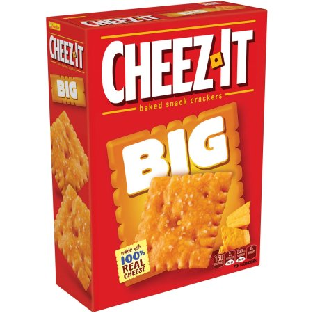 Cheez-It BIG Original Baked Snack Crackers, 11.7 oz