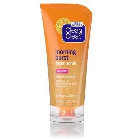 Clean & Clear(R) Morning Burst(R) Facial Scrub Cleansers 5 oz