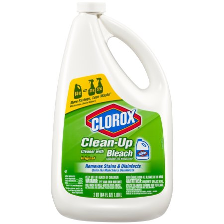 Clorox Clean-Up All Purpose Cleaner with Bleach, Refill Bottle, Original, 64 oz