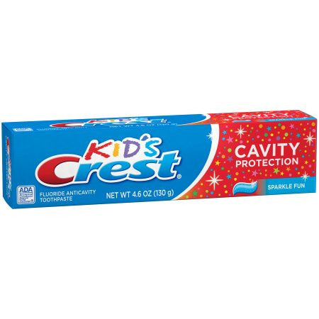 Crest Kid's Sparkle Fun Cavity Protection Toothpaste, 4.6 oz