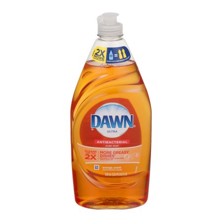 Dawn Ultra Concentrated Dishwashing Liquid Orange Scent Antibacterial Hand Soap, 21.6 oz