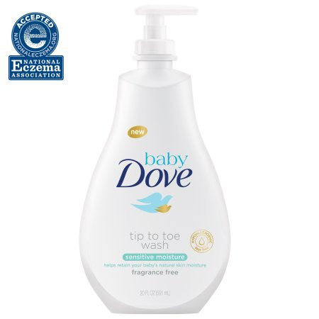 Baby Dove Sensitive Moisture Tip to Toe Wash, 13 oz