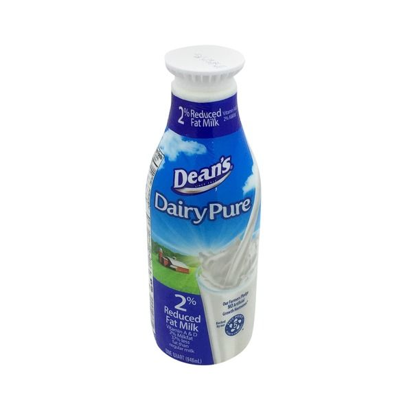 Dairy Pure 2% Reduced Fat Milk, 1 qt