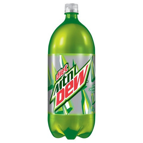DIET MOUNTAIN DEW 2 Liter