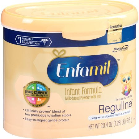 Enfamil Reguline Digestive Health and Soft Stools - Powder - 20.4 oz Tub