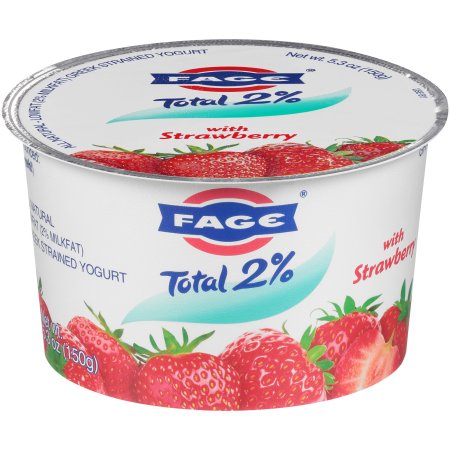 Fage® Total 2% Lowfat Greek Strained Yogurt with Strawberry 5.3 oz. Cup