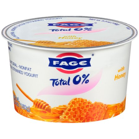 Fage® Total 0% Nonfat Greek Strained Yogurt with Honey 5.3 oz. Cup