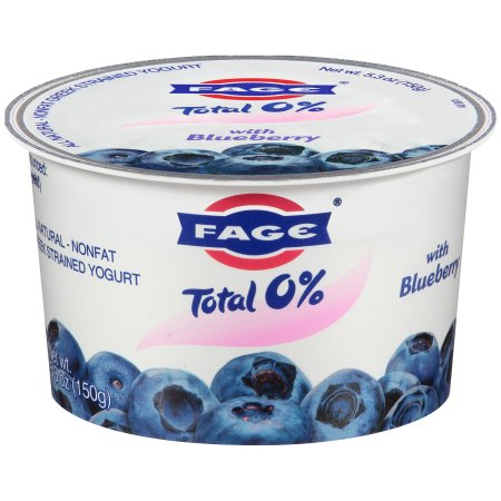 Fage® Total 0% Nonfat Greek Strained Yogurt with Blueberry 5.3 oz. Cup
