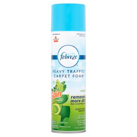 Febreze Gain Scent Heavy Traffic Carpet Foam, 22 oz