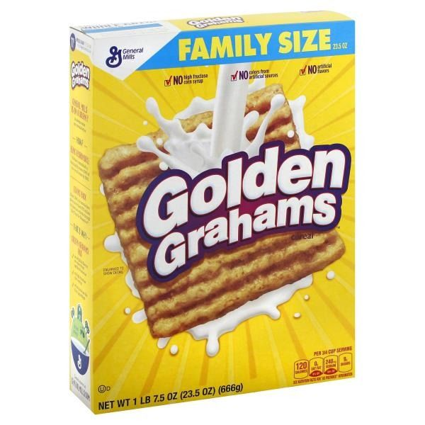 Golden Grahams Cereal 23.5 oz box