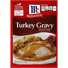 McCormick Turkey Gravy Mix, .87 oz