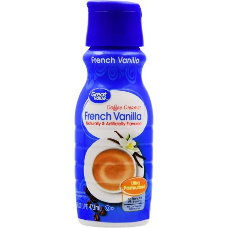Great Value French Vanilla Coffee Creamer, 16 oz