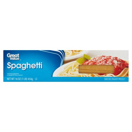 Great Value Spaghetti 16oz