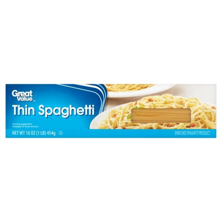 Great Value Thin Spaghetti 16oz