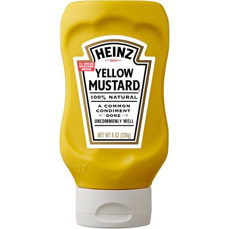 Heinz Yellow Mustard, 8 oz