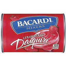 Bacardi Mixers - Strawberry Daiquiri - 10 oz can