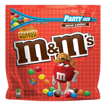 M&M'S Peanut Butter Chocolate Candies, 10.2 oz