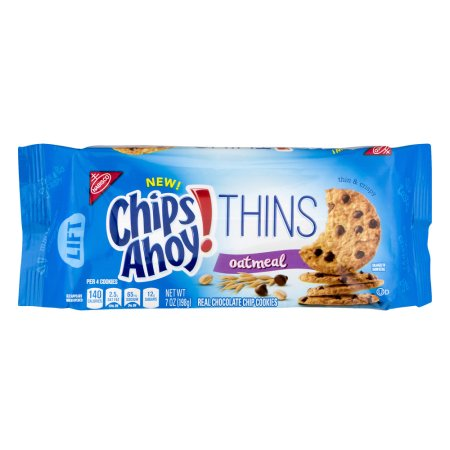 Nabisco Chips Ahoy! Thins Oatmeal Cookies, 7 oz