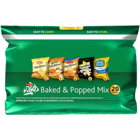 Frito-Lay Baked & Popped Mix Variety Pack, 20 ct