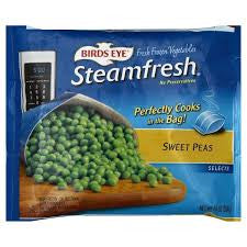 Birds Eye Steamfresh Sweet Peas, 10 oz