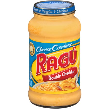 Ragu Cheese Creations Sauce Double Cheddar 16 OZ