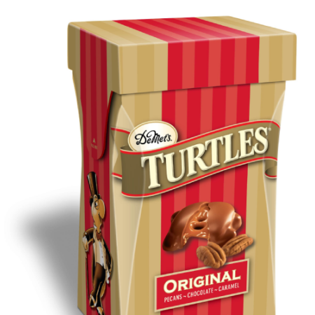 DeMet's Turtles Original Milk Chocolate Covered Pecan & Caramel Clusters, 5.8 oz