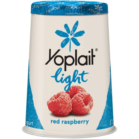 Yoplait® Light Fat Free Yogurt Red Raspberry 6.0 oz Cup
