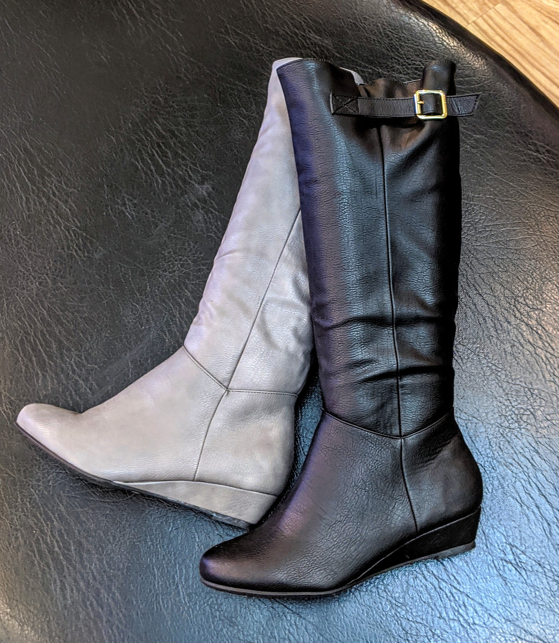 Janice Mini Wedge Boot