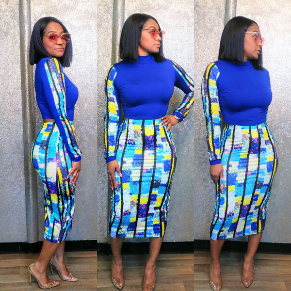 The Cheeky 2pc Skirt Set