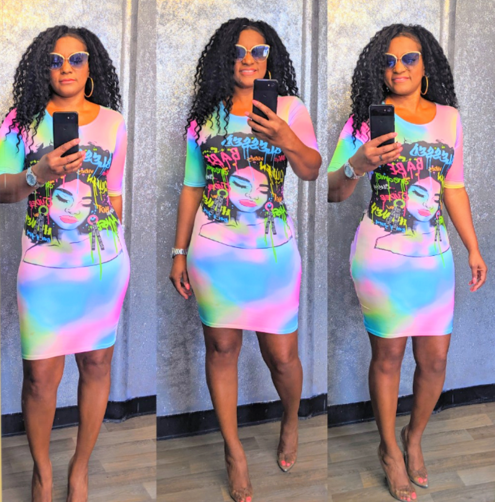Badu Afro Reg Dress