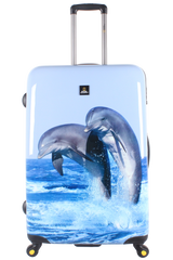 National Geographic Dolphin Hardside 4-Wheel Suitcase (Large)