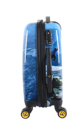 National Geographic Jump Hardside 4-Wheel Suitcase (Small/Hand Luggage)