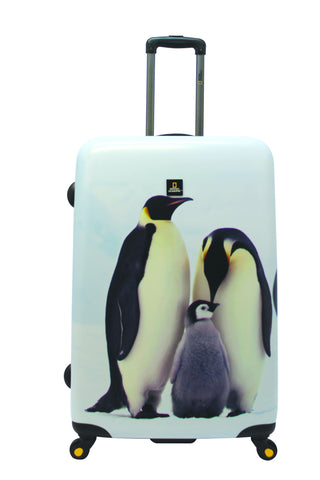 National Geographic Pingu Hardside 4-Wheel Suitcase (Large)