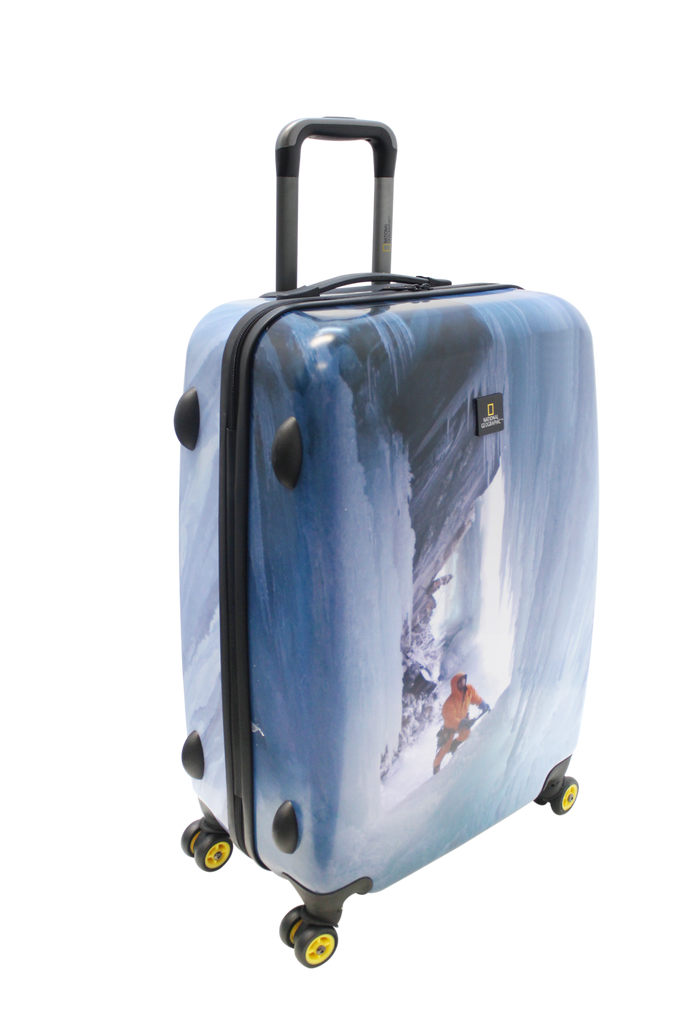National Geographic Glacier Climber Hardside 4-Wheel Suitcase (Medium)