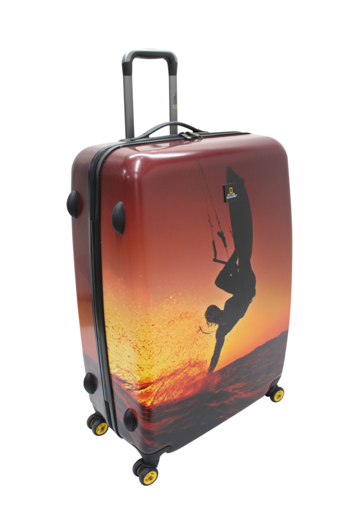 National Geographic Sky Surf Hardside 4-Wheel Suitcase (Large)