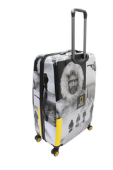 National Geographic Robert E. Peary Hardside 4-Wheel Suitcase (Small/Hand Luggage)