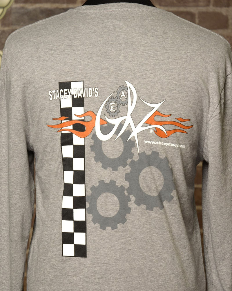 Grey Tee - Long Sleeve