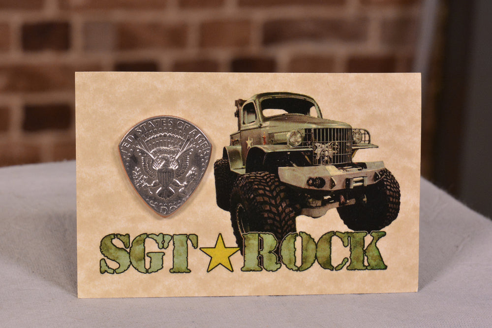Sgt Rock Guitar Pick
