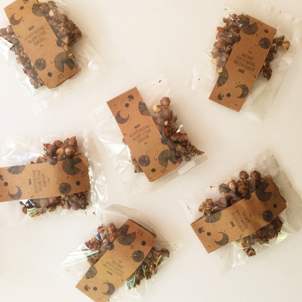 ON THE SIXTH DAY OF CHRISTMAS MY TRUE LOVE SENT TO ME: SIX HAZELNUT CRUNCHERS FOR NIBBLING SUSTAINABILITY