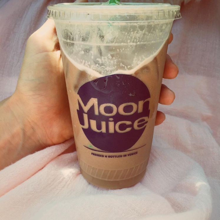 Iced Moon Dust Latte