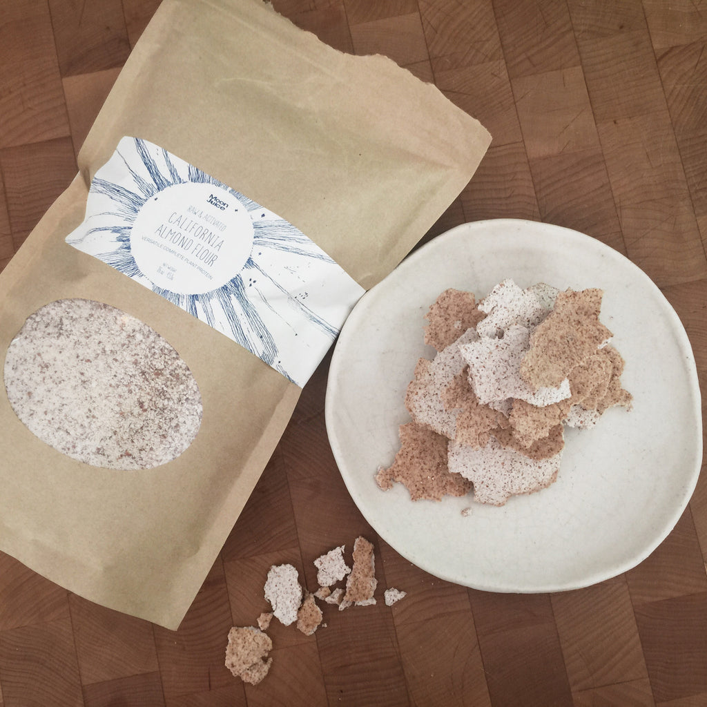 ACTIVATED ALMOND FLOUR WAFERS
