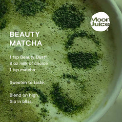 beauty dust matcha recipe