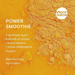 power dust smoothie recipe