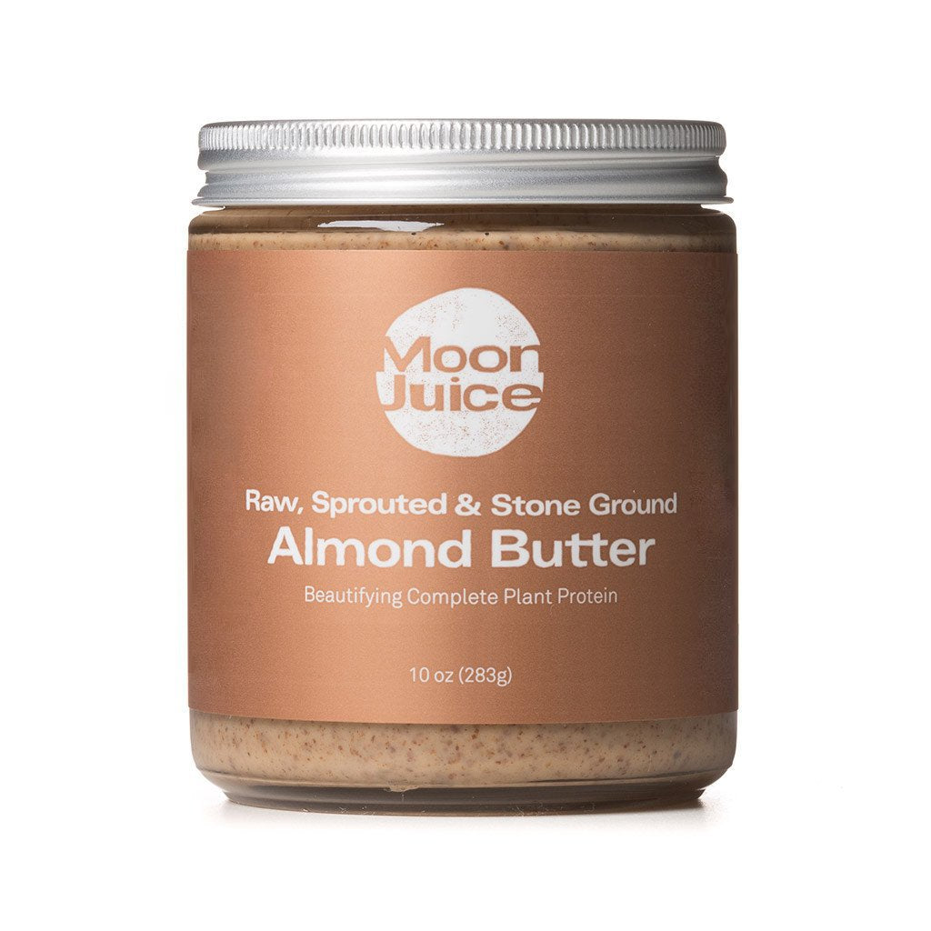 raw sprouted organic almond butter