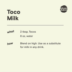 tocos milk recipe