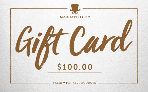 Madhat $100 Gift Card
