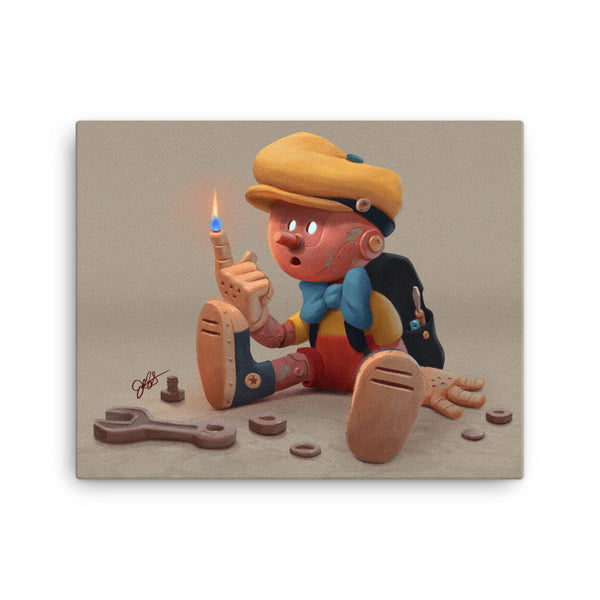 Pinocchio Canvas