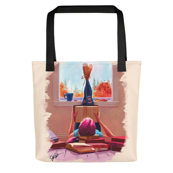 My Books and Coffee Tote bag