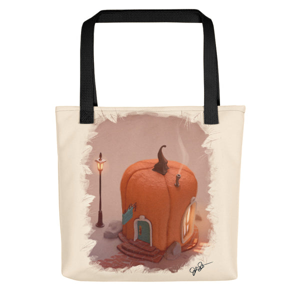 Pumpkinville House Tote bag